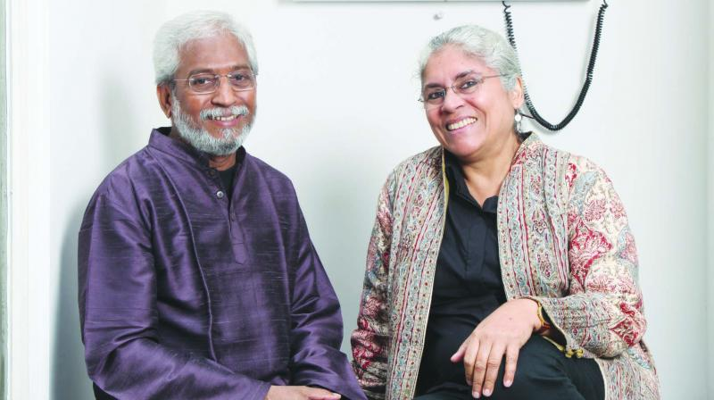 Professors K.P. Jayasankar and Anjali Monteiro