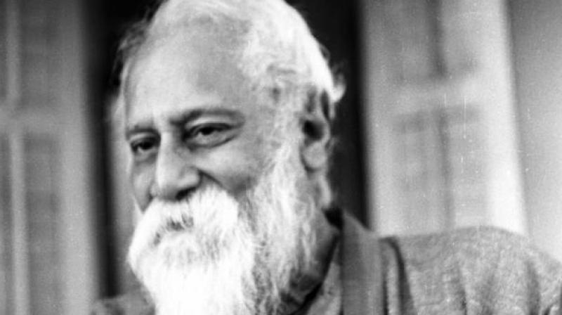 Tagore visited Egypt as a young adolescent in 1878 and later as a famous poet-philosopher in 1926, when he met King Fouad and interacted with scholars in Alexandria and Cairo. (Photo: AFP)