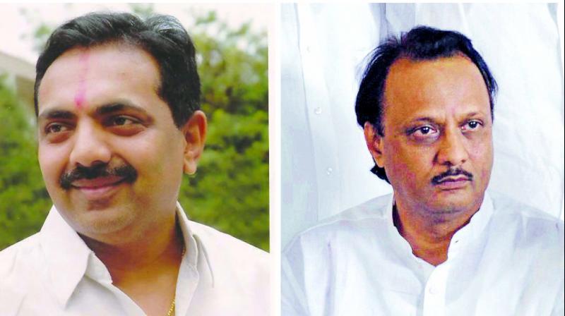 Jayant Patil and Ajit Pawar