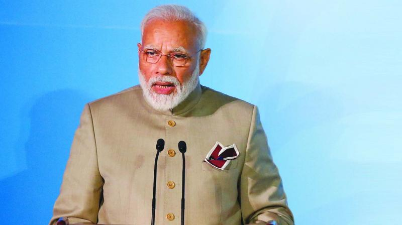 'Wish you a healthy and successful life,' Modi wrote in a message to Moshe. (Photo: File)