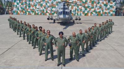 Air Chief Marshal to lead missing man formation to pay