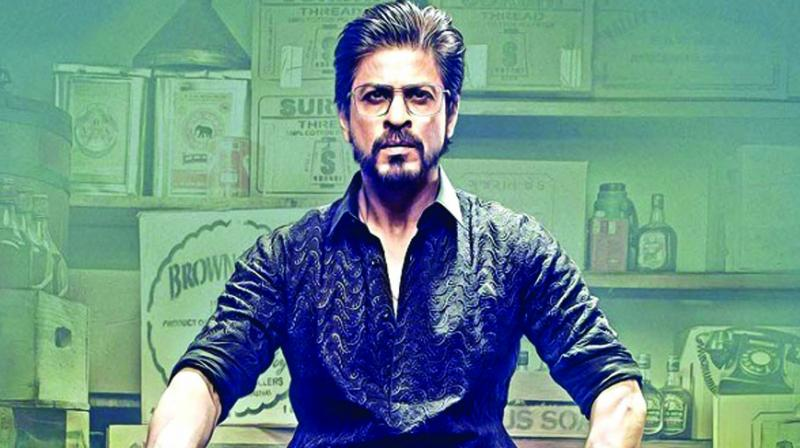 A poster of Shah Rukh Khan's film Raees
