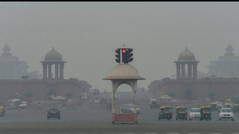 The worst-affected was New Delhi, the most polluted capital on Earth, where around 54,000 deaths are estimated to have occurred due to hazardous PM2.5 airborne particles. (PTI file)