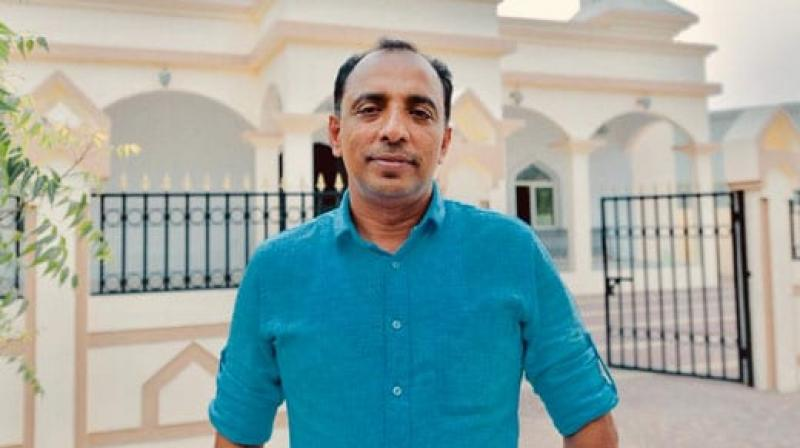 Saji Cheriyan, 49, who hails from Kerala's Kayamkulam, built the mosque last year for Muslim workers living in a worker accommodation that he rented out to 53 companies in Fujairah. (Photo: Facebook)