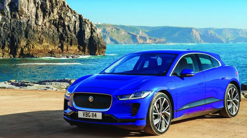 jlr to drive in i pace in 2020. Black Bedroom Furniture Sets. Home Design Ideas