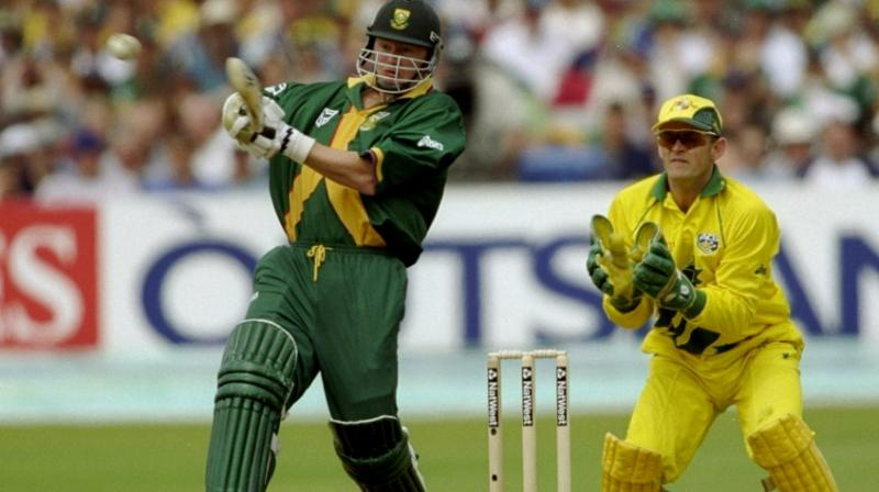 Former South Africa all-rounder Lance Klusener was on Friday appointed as the assistant batting coach of the national team for the three-match Twenty20 series against India in September. (Photo:AFP)