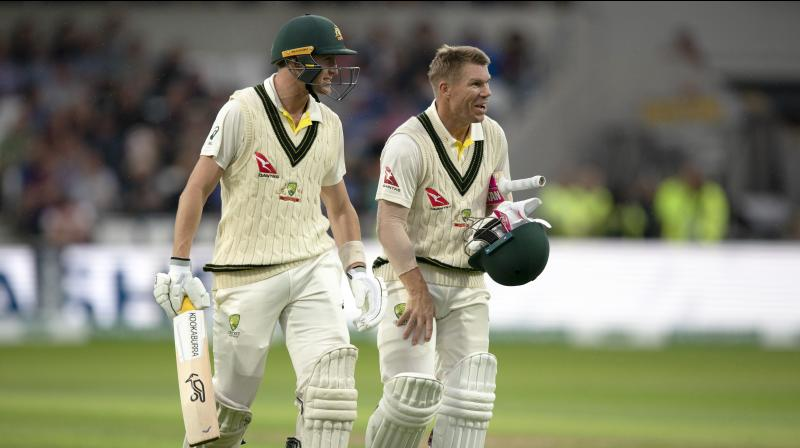 Former Australia player Ricky Ponting feels that David Warner 'really stood up' at a time when the team needed it the most as they are playing without in-form batsman Steve Smith. (Photo:AP)