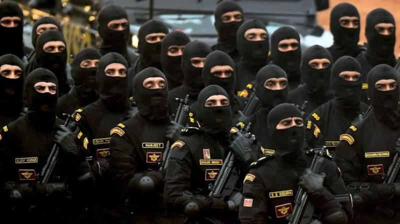The Union home ministry and other security agencies have been for long planning to deploy Black Cat commandos in the Valley. (Photo: PTI)