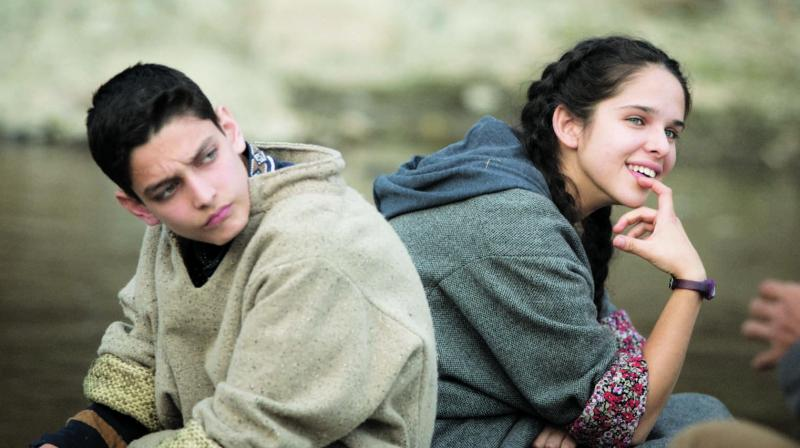 A still from No Fathers in Kashmir