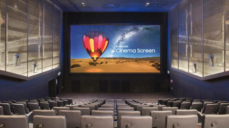 Although it extends nearly 10.3m (33.8ft) wide, the Cinema LED Screen is easy to install and configure within nearly any existing theater dimensions.