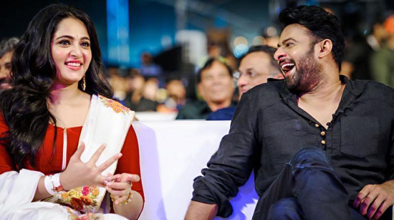 Prabhas and Anushka Shetty.