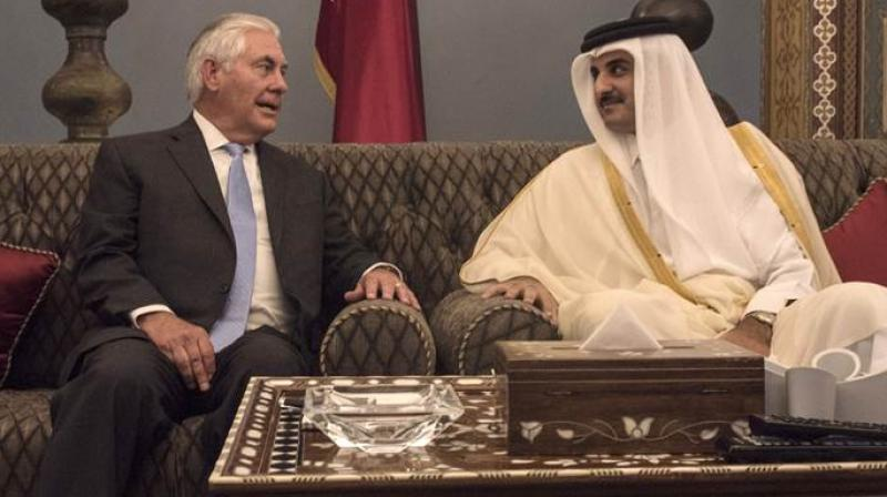 Tillerson also gave besieged Qatar some political backing ahead of talks with officials from the Arab quartet in Saudi Arabia on Wednesday. (Photo: AP)
