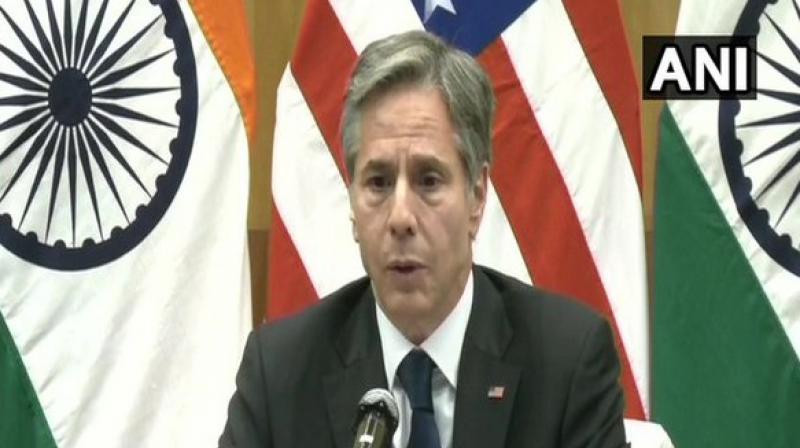 US Secretary of State Antony Blinken. (Photo: ANI)