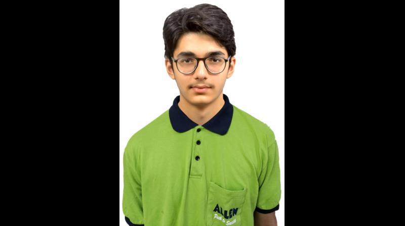 Harsh Lulla, JEE Main 2020 topper from Mumbai