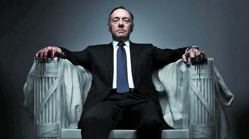 While House of Cards has given us some incredible performances by every actor involved in the series, it was spacey who kept the otherwise bit-of-a-stretch show going.