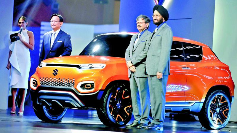 Leading automakers Maruti Suzuki India (MSI) and Hyundai Motor on Wednesday posted marginal growth in domestic sales for July on account of high base in July last year. (Photo: PTI)