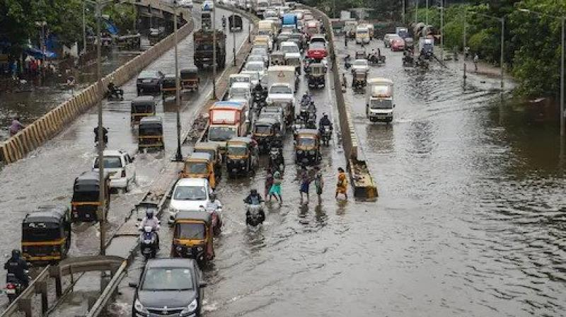The rains also caused water-logging in Andheri, Parel, Bhandup and some other areas. (PTI file photo)