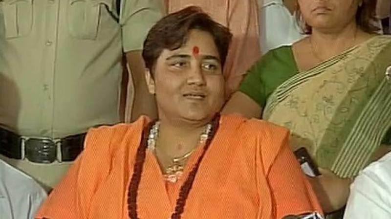 2008 Malegaon blast accused Sadhvi Pragya Singh Thakur. (Photo: Twitter | ANI)