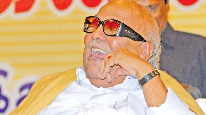 Karunanidhi stood like rock to protect the DMK and braved out after hobnobbing with Vajpayee-led BJP to re-negotiate an electoral alliance with Sonia Gandhi-led Congress for the 2004 Lok Sabha polls.