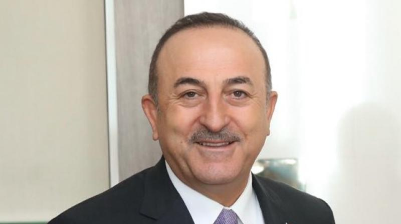 'If you start legitimising terrorists like this, tomorrow you will end up meeting with Baghdadi as well,' Turkish Foreign Minister Mevlut Cavusoglu said in televised remarks. (Photo: Twitter)