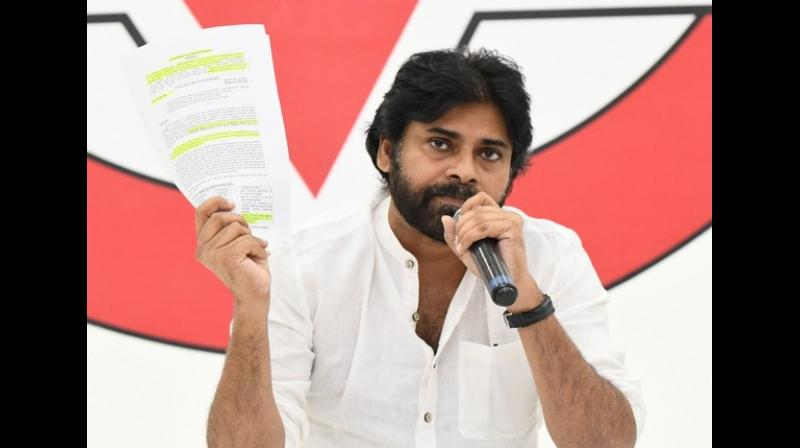 Suggesting he had no major differences with the ruling BJP, Pawan Kalyan said he had only differed with the party over Special Category status for Andhra Pradesh. (Photo: File)