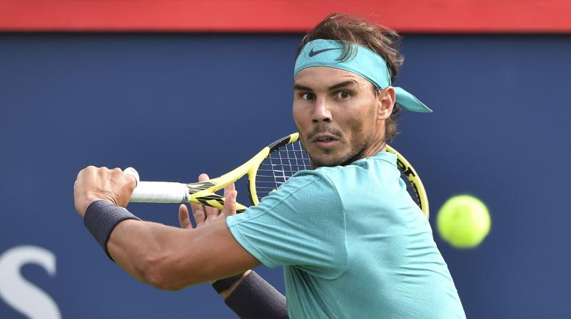 Claycourt king Nadal successfully defended a hard court title for the first time in his career. (Photo: AFP)