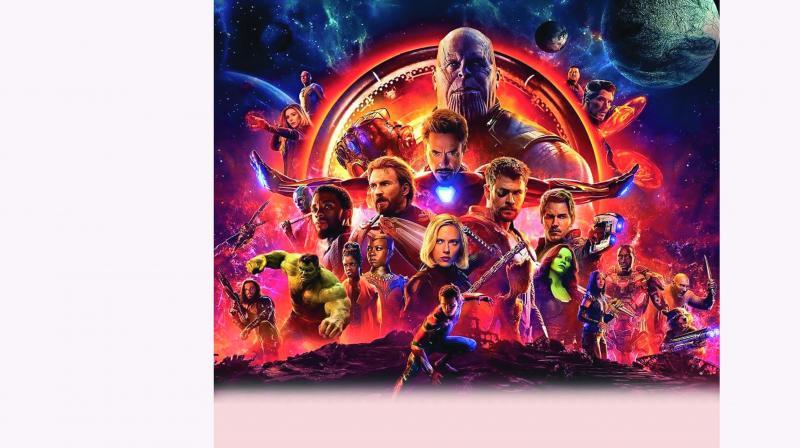 A still from  Avengers:  Endgame