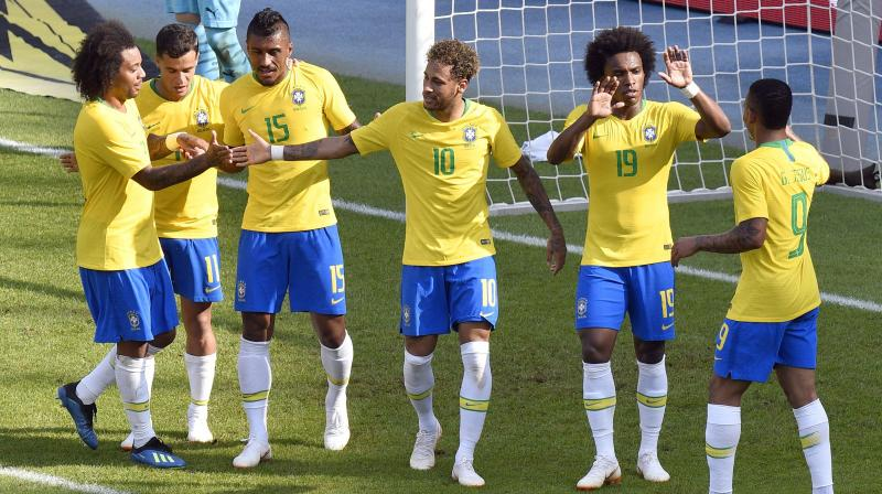 fef80b3f8 In 2014 Brazil were knocked out in the semifinal stage by Germany. (Photo: