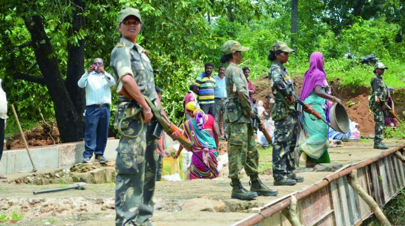 The state's Bastar division, comprising Dantewada, Bastar, Kanker, Kondagaon, Narayanpur, Bijapur and Sukma districts, has been struggling with Naxal menace since the past three decades. (Photo: File)