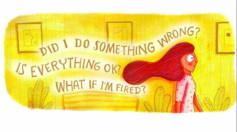 Pranita's Kocharekar illustration on anxiety.