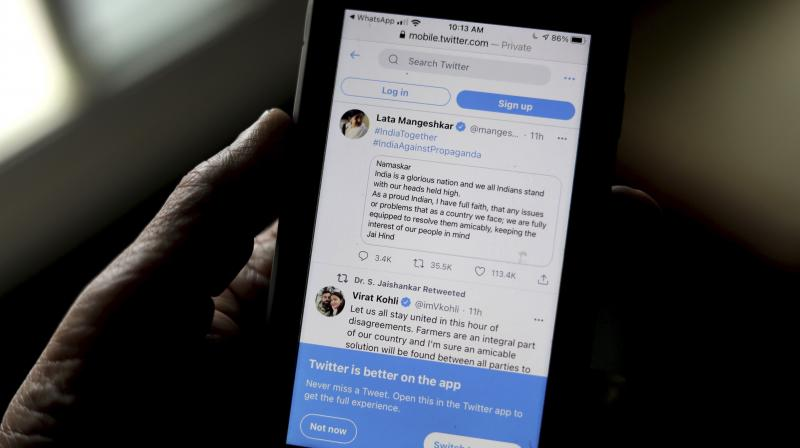 Twitter's Public Policy Director for India and South Asia Mahima Kaul has quit, fuelling speculations about her departure amid the ongoing situation. (AP)