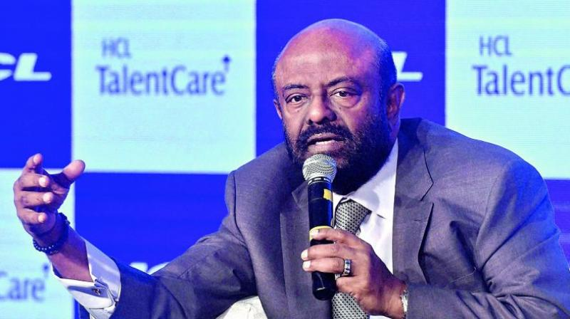am honoured and privileged to be invited to speak to you today and join in the celebrations. The Reshimbagh ground has truly come alive today with the energy of all the RSS workers said HCL founder-chairman Shiv Nadar. (Photo: File)