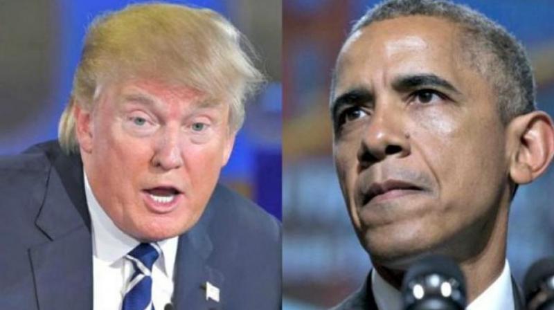 President-elect Donald Trump and President Barak Obama (Photo: AP)