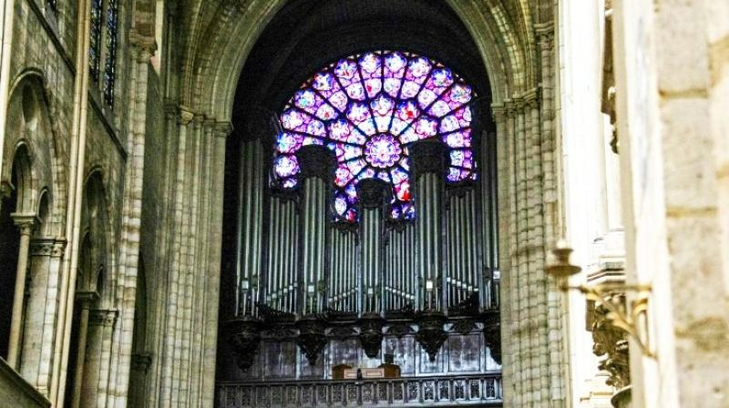 Notre-Dame's grand organ will be cleaned of dust and will probably not have to be taken apart after the inferno that ravaged the Paris cathedral. (Photo: AFP)
