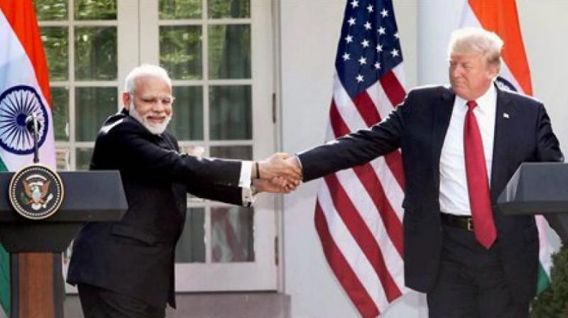 Prime Minister Narendra Modi and US President Donald Trump. (Photo: AP/File)