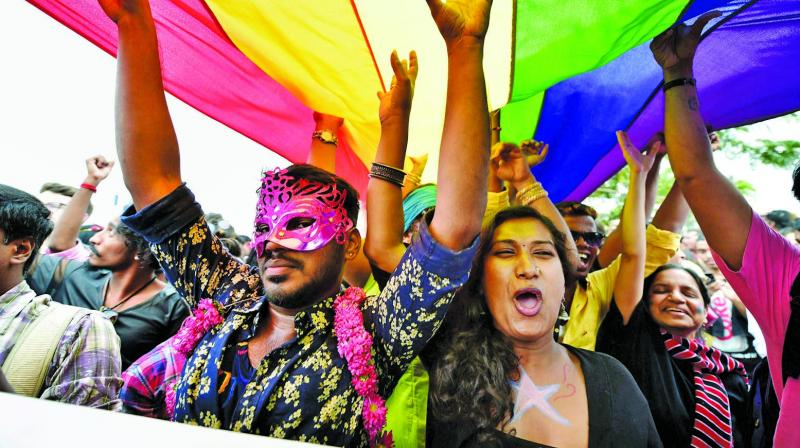 "The government's plea in the SC that it has ""no view of its own"" on decriminalising  homosexuality is a sham. (Photo: AP)"