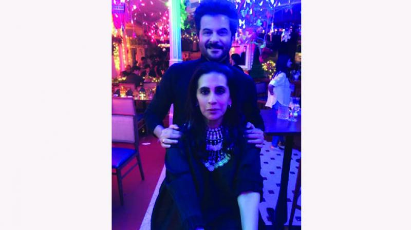 Anil Kapoor and Sunita Kapoor
