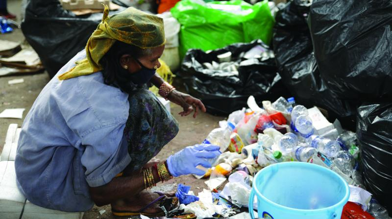 While Gurgaon, Delhi and several modern cities are still struggling to get housewives to segregate wet and dry waste for proper management of solid waste, in Danapur, Khagaul, Phulwari Sharif blocks of Patna district of Bihar, representatives of women's self-help groups are spearheading the charge to reduce the waste discarded in the open dumping grounds.