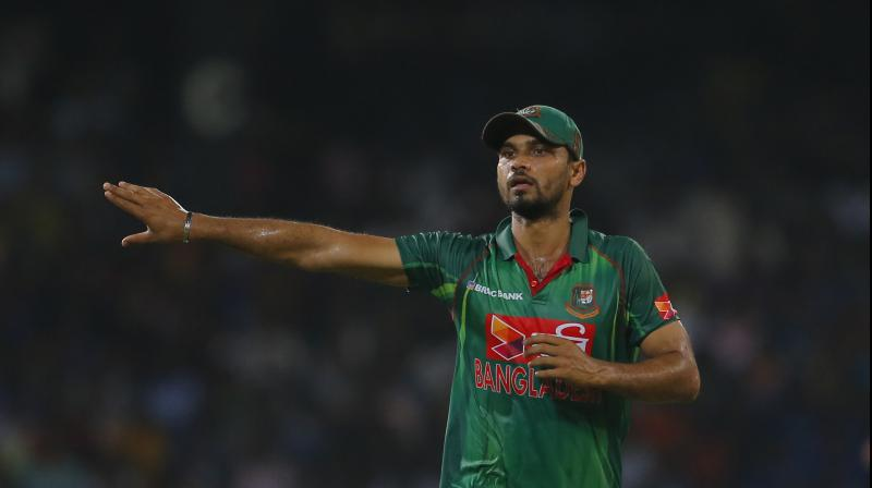 Mortaza acknowledged the fact that the Proteas have 'wicket-taking' bowlers, he is confident of going in the match against them. (Photo: AP)