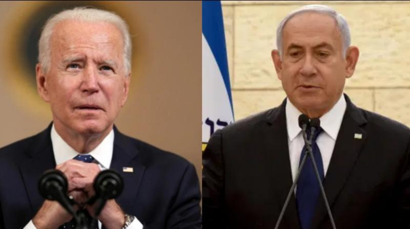 US President Joe Biden dialled up Israeli prime minister Benjamin Netanyahu on Tuesday. (Photo: File/PTI)