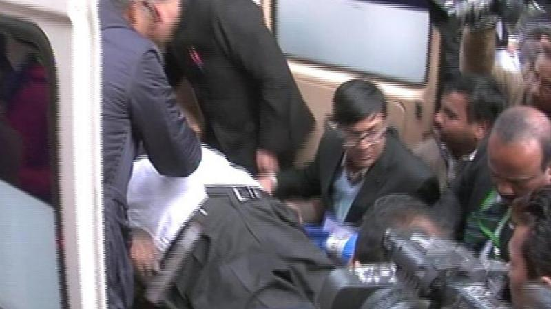 Ahamed had served as Minister of State for External Affairs in the previous UPA government. (Photo: Video grab)