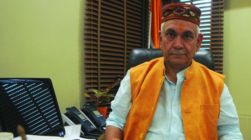 Manoj Sinha (Photo: BIPLAB BANERJEE)