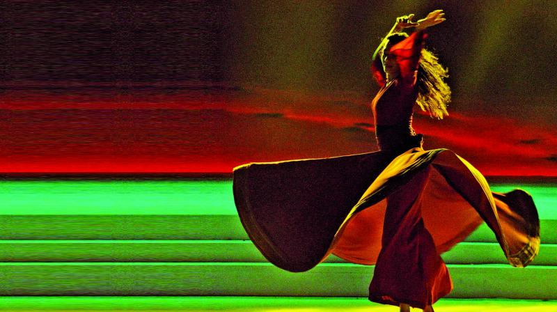 Arriving to the Bay, the whirling dance community is a nod to the compelling art seekers who want to experience or learn how to whirl.