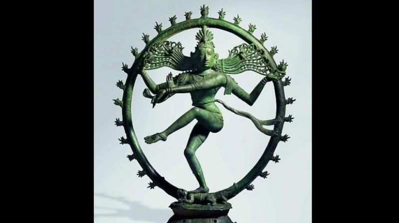 The Brihadeshwara Nataraja that was stolen from the Chola temple and sold to the Australian National Museum by smuggler-cum-antique dealer Subhash Kapoor for $5.6 million.