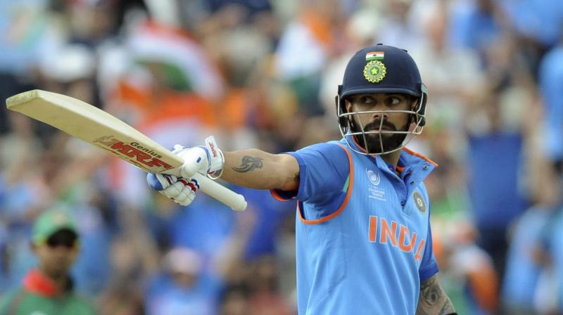 Virat  Kohli at times has played second fiddle in this tournament, letting the other batsmen express themselves. Yet he has been able to up the ante when required.(Photo: AP)