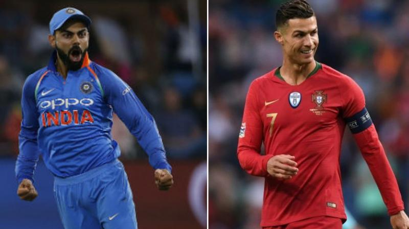 Virat Kohli is the cricketing equivalent of soccer superstar Cristiano Ronaldo for his sheer commitment towards the game feels West Indies batting icon, Brian Lara. (Photo: AFP)