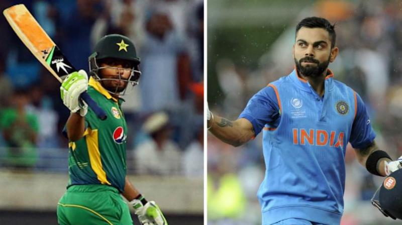 Babar, who scored his second Test hundred in the last three game on Sunday at against Sri Lanka in Rawalpindi, said he wanted to be a batsman who, like Kohli, could win more matches for his team. (Photo:  AFP / AP)