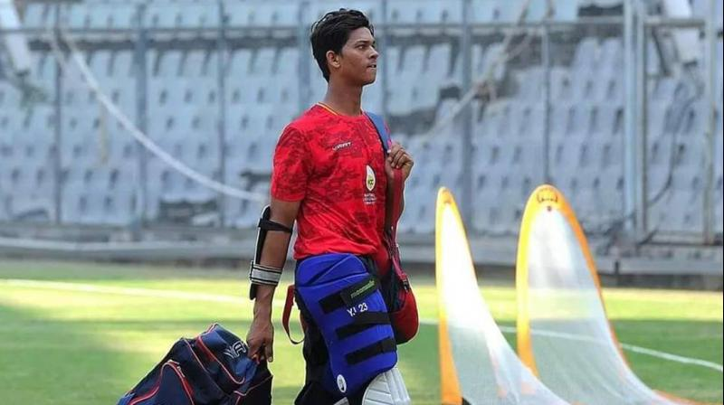 Defying all odds, 17-year-old all-rounder Yashasvi Jaiswal made it to India U19 World Cup squad. (Photo: Twitter)