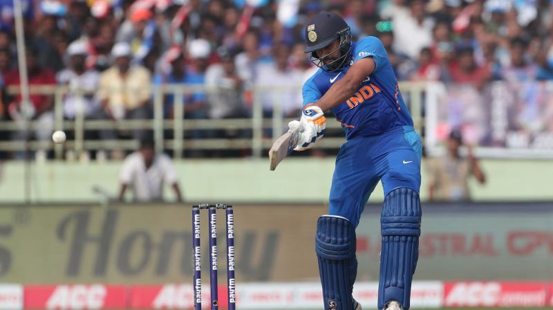 The 32-year-old Rohit Sharma so far has 1382 runs in the ODI format in 2019 while Kohli has 1292 runs to his credit. (Photo: AFP)