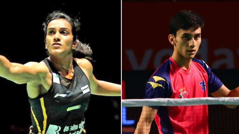 A momentous gold at the world championships more than made up for P V Sindhu's otherwise ordinary run in the circuit, while teenager Lakshya Sen ensured that Indian men's badminton had a strong future to look forward to in a mixed bag that was 2019. (Photo: Twitter)